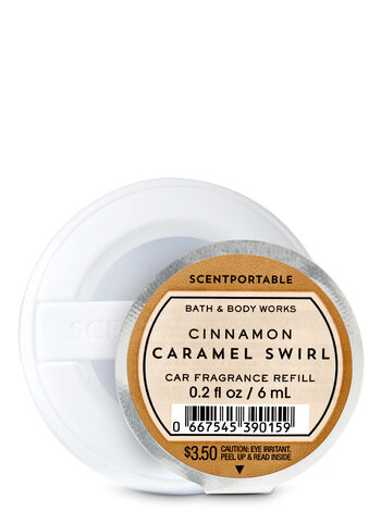 Cinnamon Caramel Swirl Scentportable Fragrance Refill - Bath And Body Works