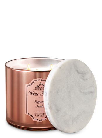 Peppered Suede 3-Wick Candle