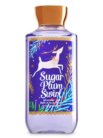 Signature Collection Sugar Plum Swirl Shower Gel - Bath And Body Works