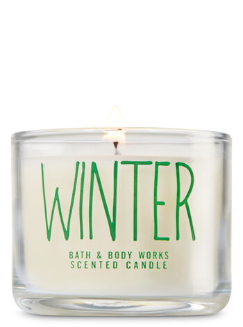Winter Mini Candle