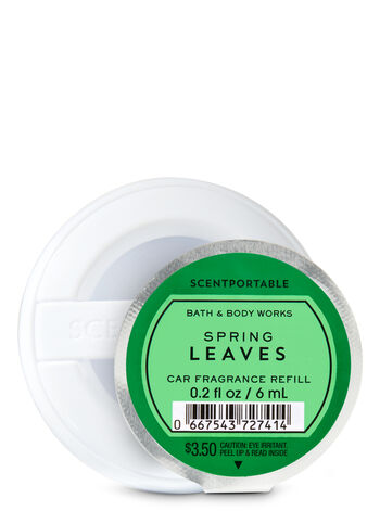 Spring Leaves Scentportable Fragrance Refill - Bath And Body Works