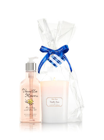 Vanilla Favorites Scents &Suds Gift Kit - Bath And Body Works