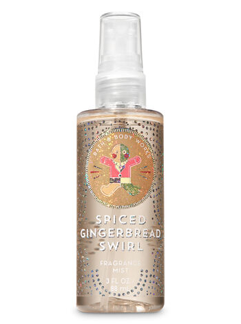 Signature Collection Spiced Gingerbread Swirl Travel Size Fine Fragrance Mist - Bath And Body Works