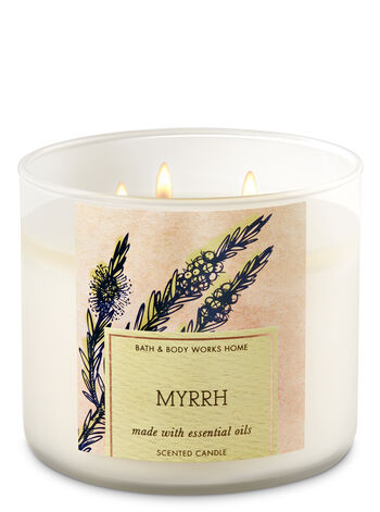 Myrrh 3-Wick Candle - Bath And Body Works