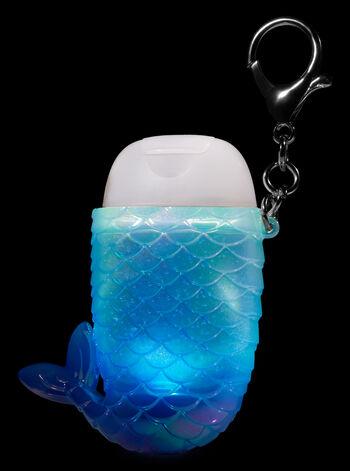 Blue Mermaid Tail Light-Up Pocketbac Holder