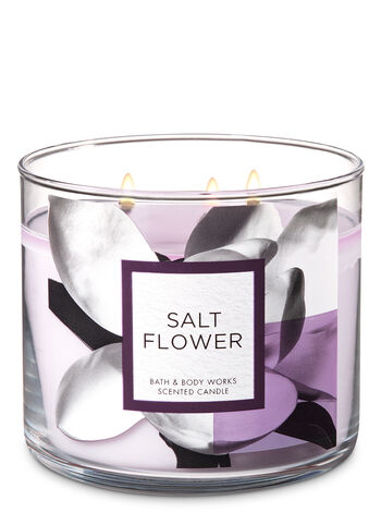 Salt Flower 3-Wick Candle - Bath And Body Works