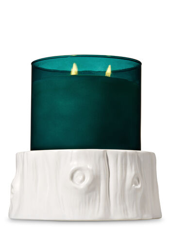 Tree Stump Pedestal 3-Wick Candle Sleeve