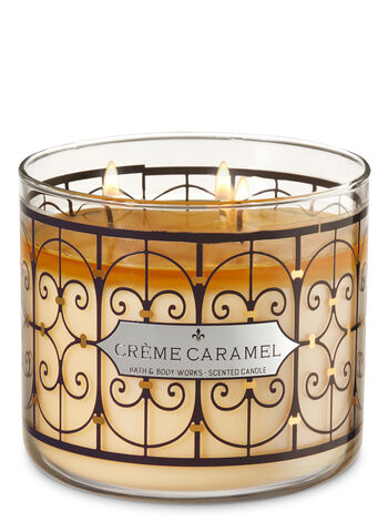 Crème Caramel 3-Wick Candle - Bath And Body Works