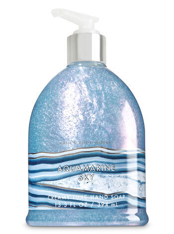 Aquamarine Sky Creamy Luxe Hand Soap - Bath And Body Works