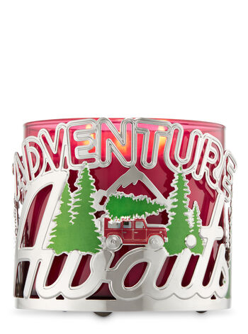 Adventure Awaits 3-Wick Candle Sleeve