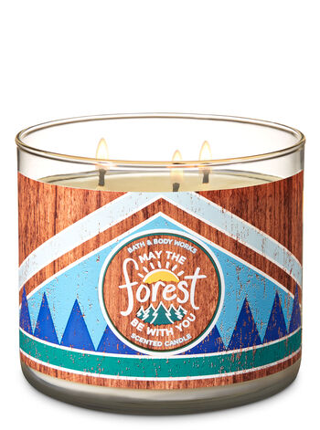 Evergreen 3-Wick Candle - Bath And Body Works