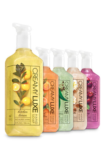 Core Favorites 5-Pack Creamy Luxe Hand Soap - Bath And Body Works