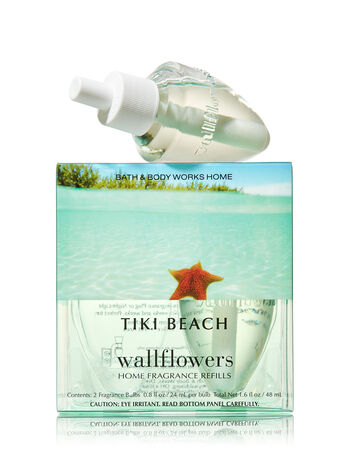 Tiki Beach Wallflowers 2-Pack Refills - Bath And Body Works