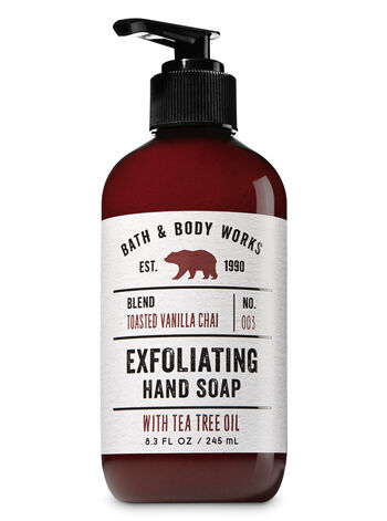 Toasted Vanilla Chai Exfoliating Hand Soap - Bath And Body Works