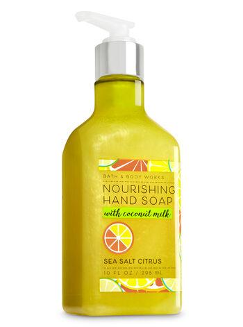 Sea Salt Citrus Nourishing Hand Soap - Bath And Body Works
