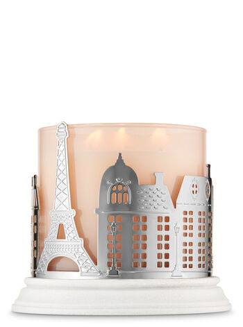 Streets of Paris 3-Wick Candle Holder - Bath And Body Works