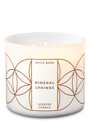 Mineral Springs 3-Wick Candle - Bath And Body Works