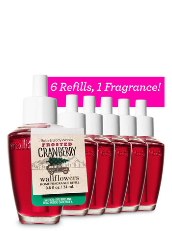 Frosted Cranberry 6-Pack Wallflowers Sampler