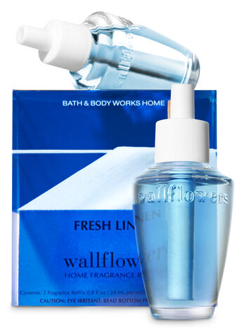 Fresh Linen Wallflowers Refills, 2-Pack - Bath And Body Works