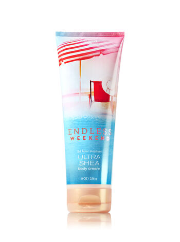 Signature Collection Endless Weekend Ultra Shea Body Cream - Bath And Body Works