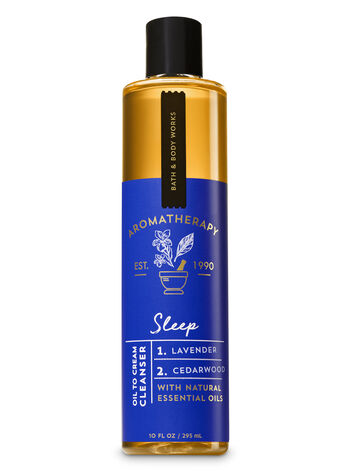 Aromatherapy Sleep - Lavender & Cedarwood Oil To Cream Cleanser - Bath And Body Works