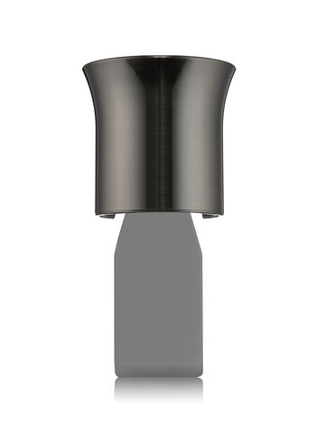 Brushed Dark Metallic Flare Wallflowers Fragrance Plug