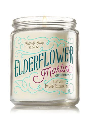 Elderflower Martini Medium Candle