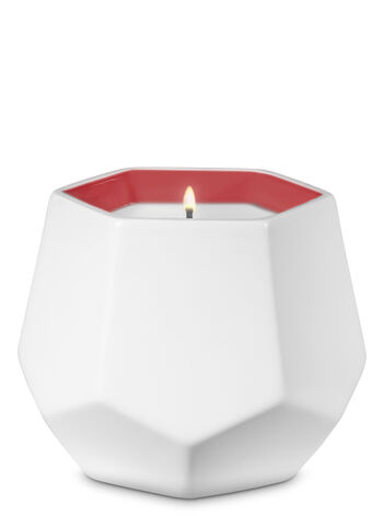 White Opal Single Wick Candle - Bath And Body Works