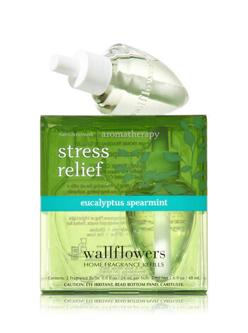 Aromatherapy Eucalyptus Spearmint Wallflowers 2-Pack Refills - Bath And Body Works