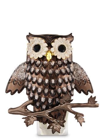 Glittery Owl Nightlight Wallflowers Fragrance Plug