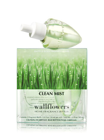 Clean Mist Wallflowers 2-Pack Refills - Bath And Body Works