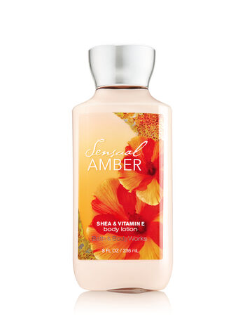 Signature Collection Sensual Amber Body Lotion - Bath And Body Works