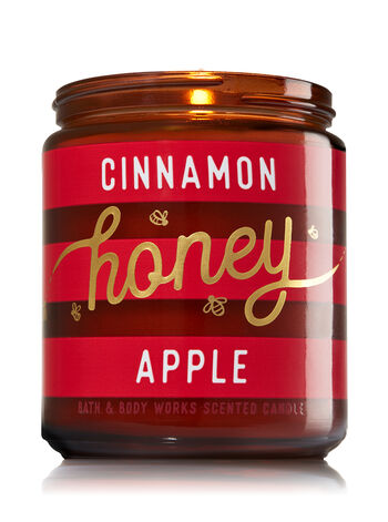 Cinnamon Honey Apple Medium Candle
