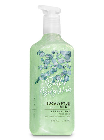 Eucalyptus Mint Creamy Luxe Hand Soap - Bath And Body Works