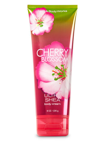 Signature Collection Cherry Blossom Ultra Shea Body Cream - Bath And Body Works