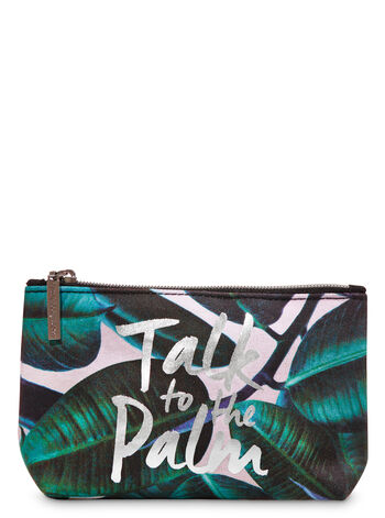 Talk to the Palm Cosmetic Bag - Bath And Body Works
