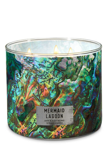 Mermaid Lagoon 3-Wick Candle - Bath And Body Works