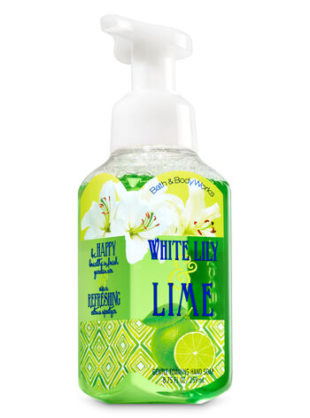 White Lily & Lime Gentle Foaming Hand Soap - Bath And Body Works