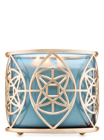 Geo Star 3-Wick Candle Holder - Bath And Body Works