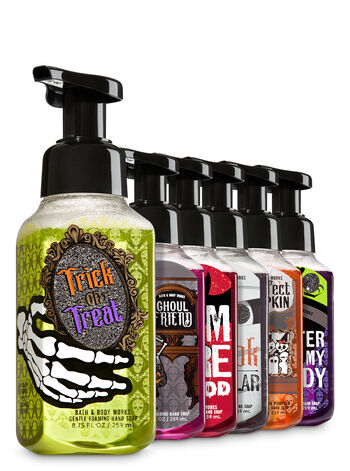 Halloween Favorites 6-Pack Gentle Foaming Soap - Bath And Body Works