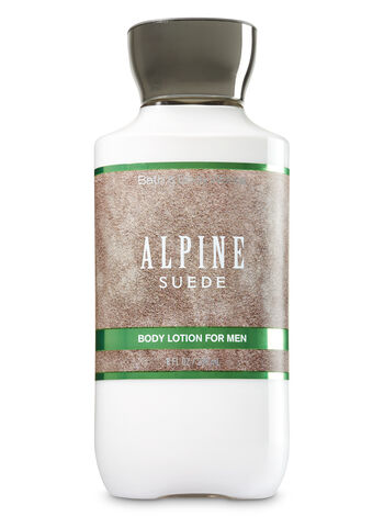Signature Collection Alpine Suede For Men Body Lotion - Bath And Body Works