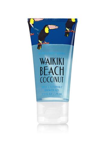 Signature Collection Waikiki Beach Coconut Travel Size Shower Gel - Bath And Body Works
