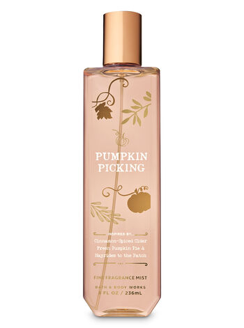 Signature Collection Pumpkin Picking Fine Fragrance Mist - Bath And Body Works