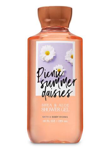 Signature Collection Picnic Summer Daisies Shower Gel - Bath And Body Works
