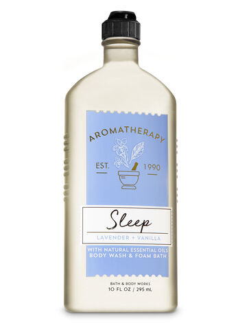 Aromatherapy Lavender Vanilla Body Wash & Foam Bath - Bath And Body Works