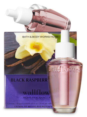 Black Raspberry Vanilla Wallflowers Refills, 2-Pack - Bath And Body Works