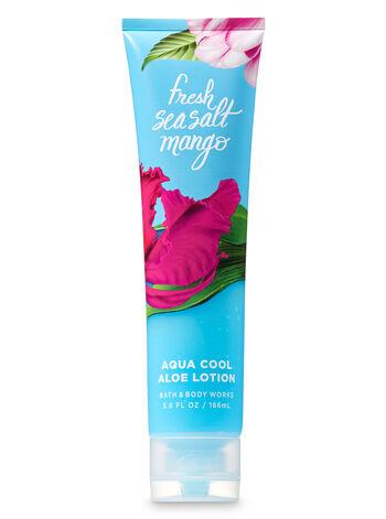 Signature Collection Fresh Sea Salt Mango Aqua Cool Aloe Lotion - Bath And Body Works