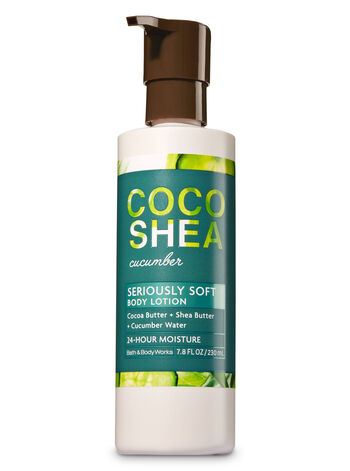 Signature Collection CocoShea Cucumber Body Lotion - Bath And Body Works
