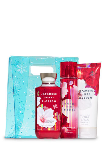 Japanese Cherry Blossom Snowflakes Bag Gift Set