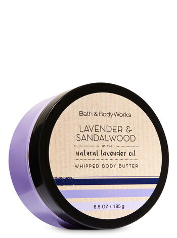 Signature Collection Lavender & Sandalwood Whipped Body Butter - Bath And Body Works